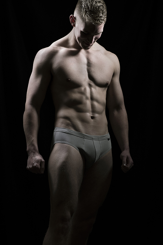 fitness physique bodyshot muscle photo
